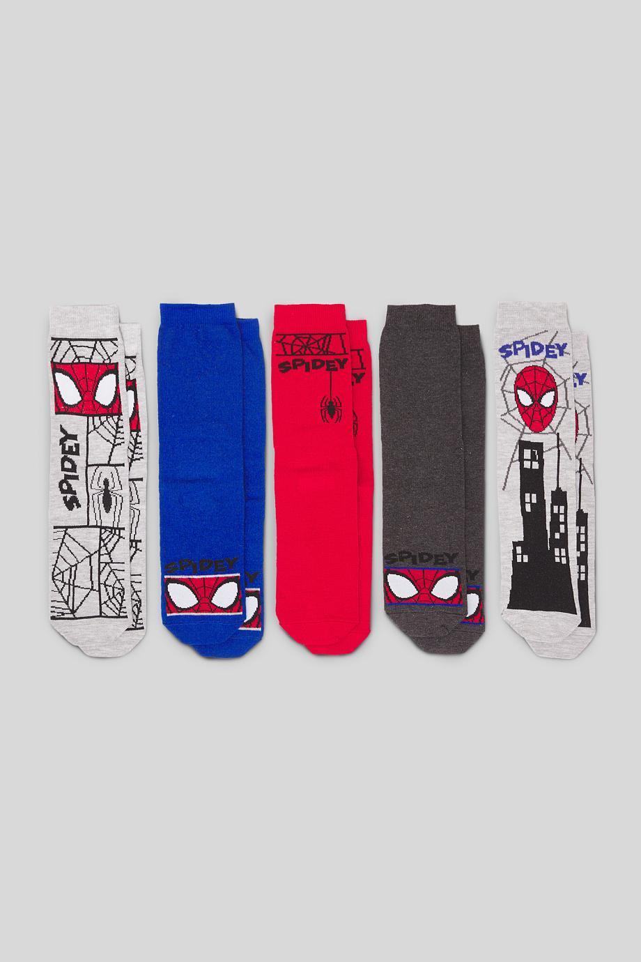 Отзыв на Человек-Паук - Носки 5 пар из Интернет-Магазина C&A