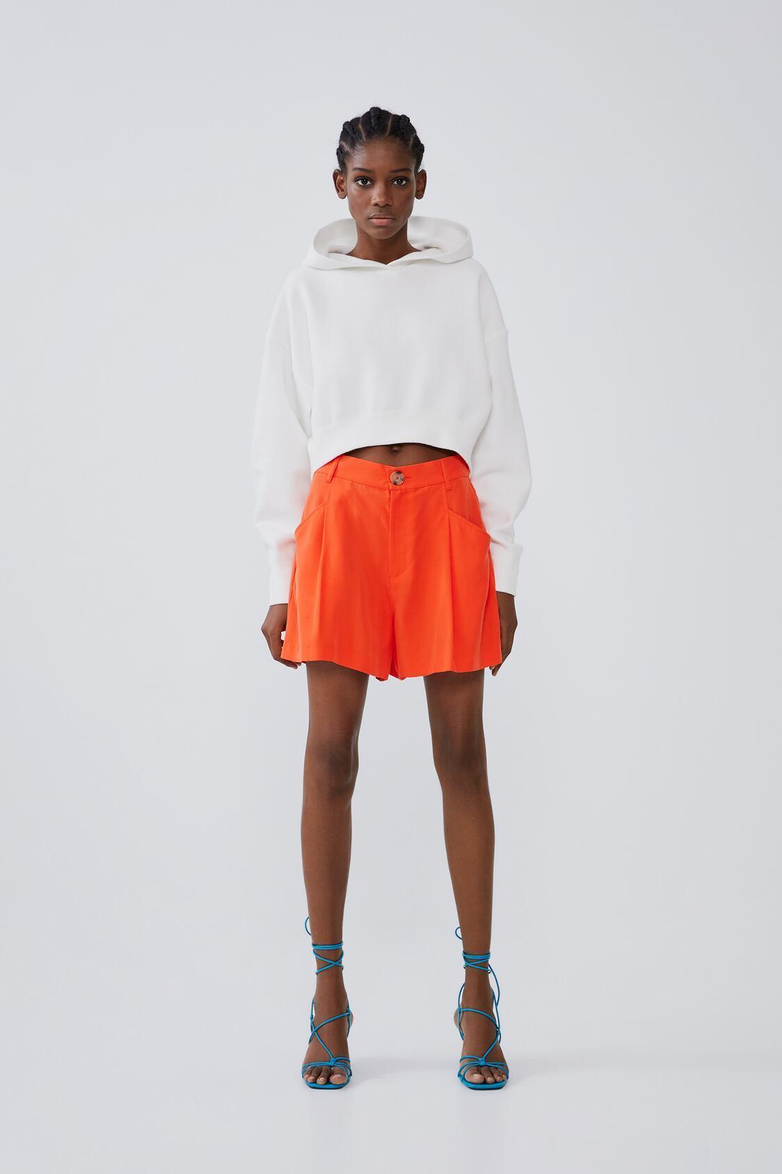 Отзыв на Бермуды шорты С Карман из Интернет-Магазина Zara
