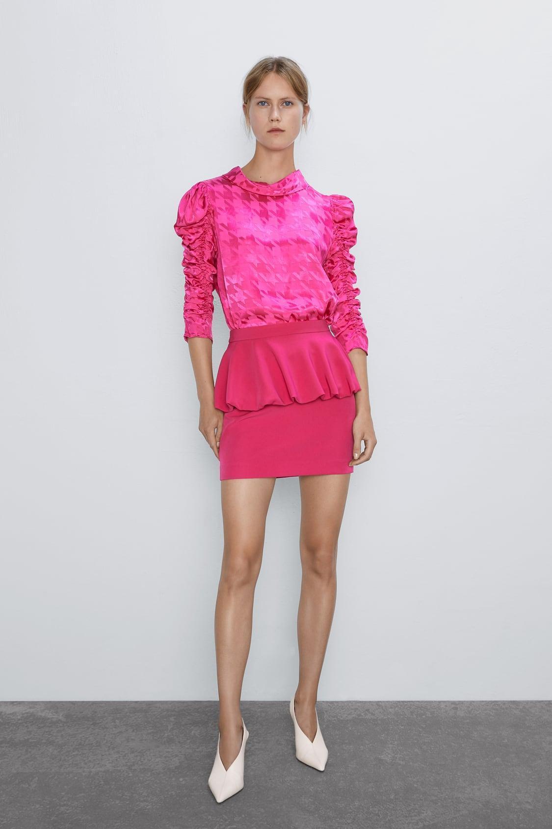 Отзыв на BAUSCHIG GESCHNITTENER MINIROCK из Интернет-Магазина Zara