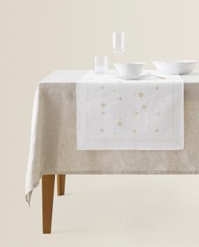 Отзыв на Стол бегун с Снежинки из Интернет-Магазина Zara Home