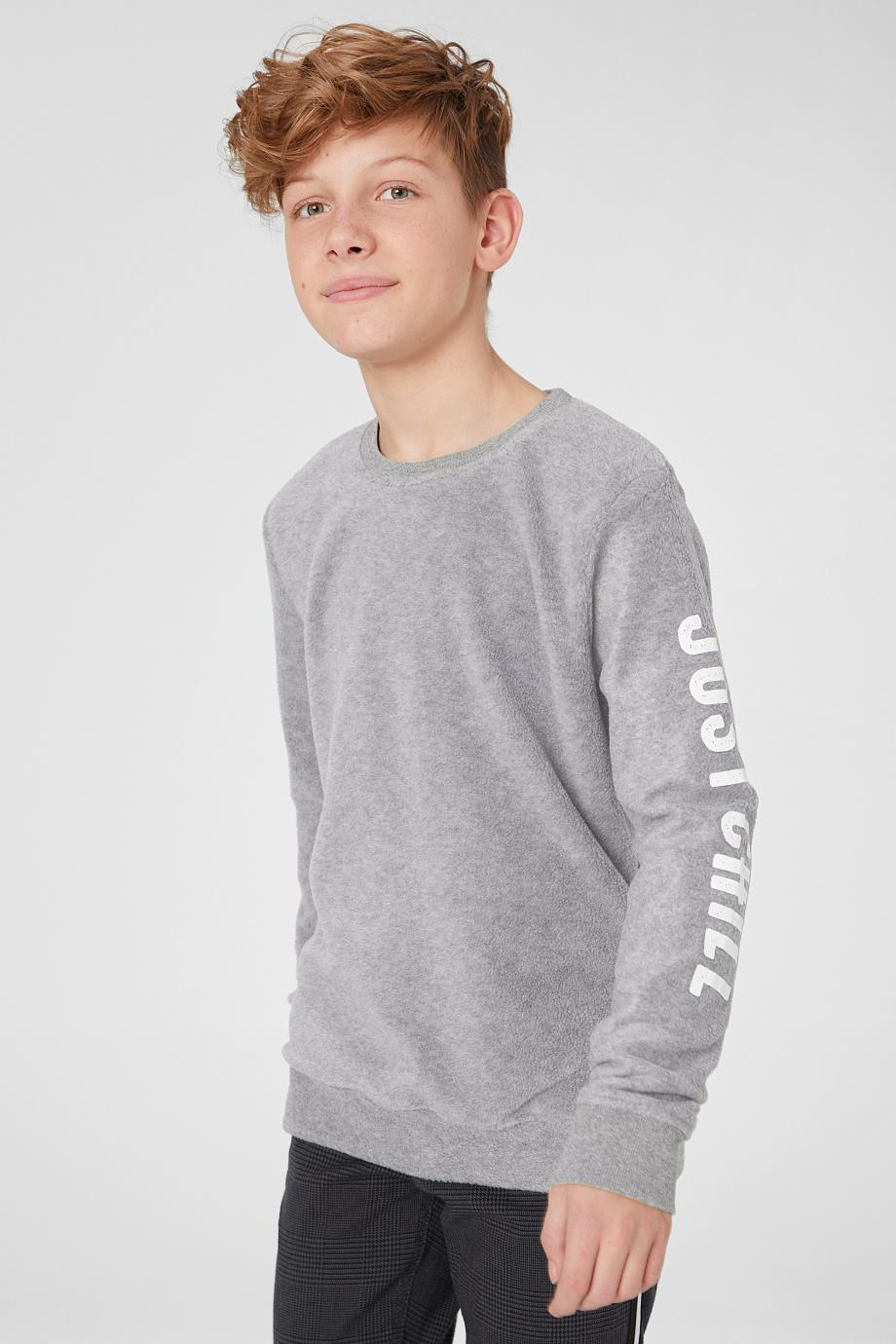 Отзыв на Fleece-Sweatshirt из Интернет-Магазина C&A