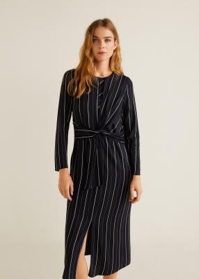 Отзыв на Платье с Узел из Интернет-Магазина MANGO Outlet