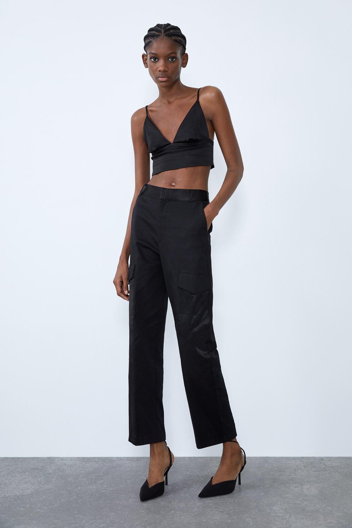 Отзыв на CROPPED-OBERTEIL из Интернет-Магазина Zara