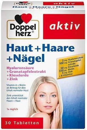 Отзыв на Doppelherz aktiv Haut + Haare + Nägel из Интернет-Магазина ROSSMANN