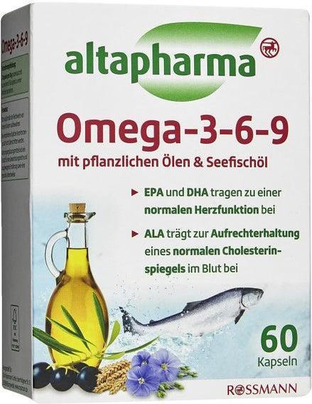Отзыв на Altapharma Омега 3-6-9 Капсулы из Интернет-Магазина ROSSMANN