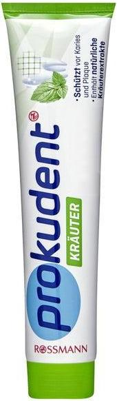 Отзыв на Prokudent зубная паста Травы из Интернет-Магазина ROSSMANN