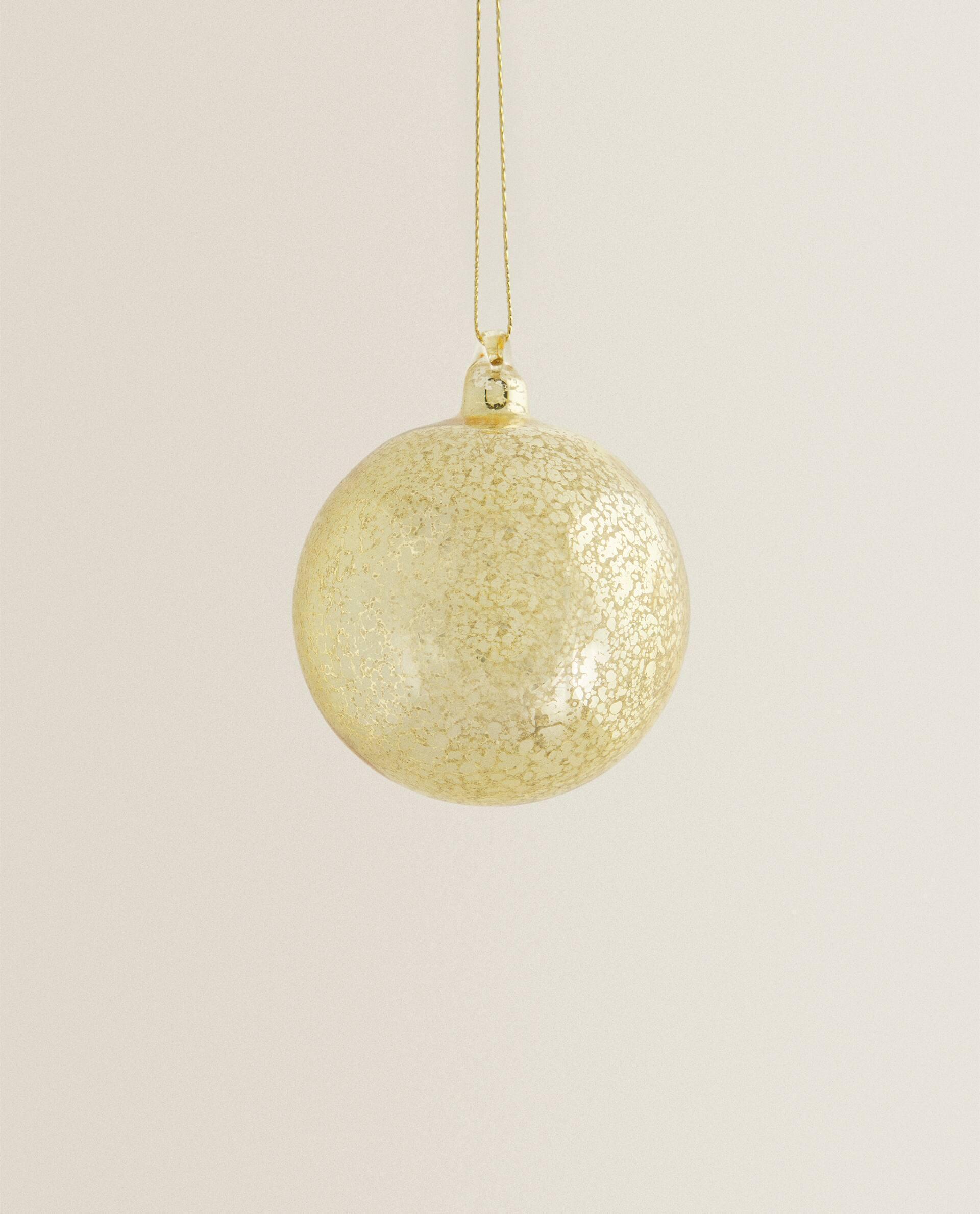 Отзыв на РОЖДЕСТВЕНСКИЕ шары с Стекло из Интернет-Магазина Zara Home