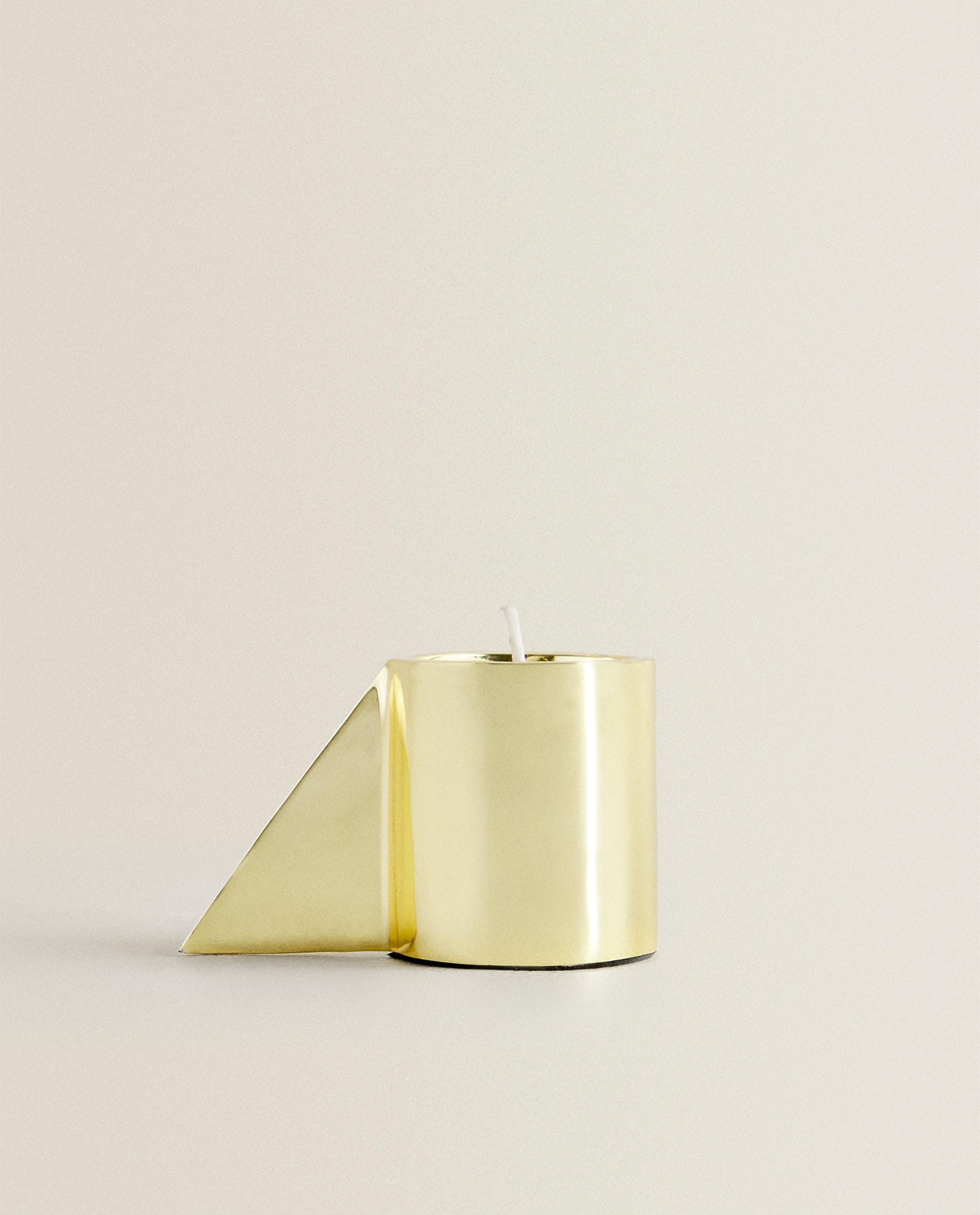 Отзыв на Золотого цвета ПОДСВЕЧНИК с РУЧКА из Интернет-Магазина Zara Home