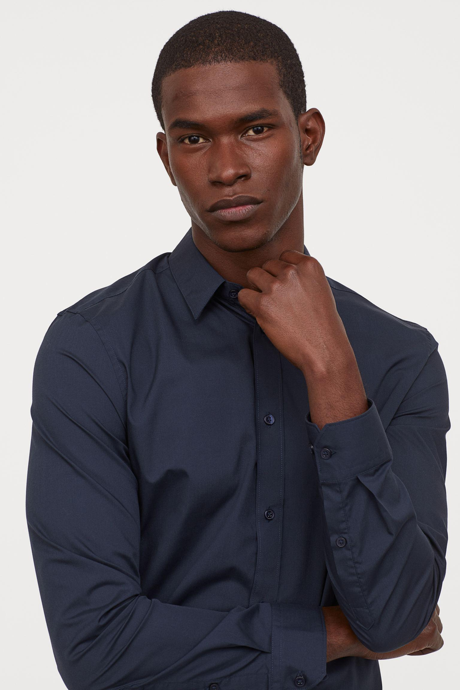 Отзыв на Простой Утюг-Hemd Зауженные из Интернет-Магазина H&M