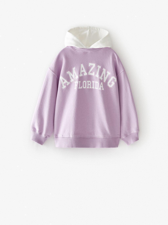 Отзыв на Свитер С Контраст Лозунг из Интернет-Магазина Zara