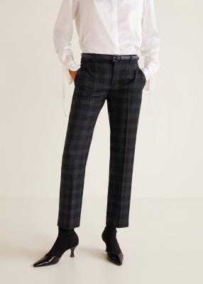 Отзыв на Прямые штаны с Плед из Интернет-Магазина MANGO Outlet
