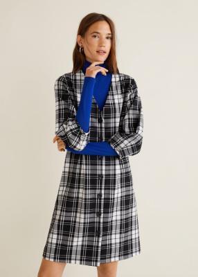 Отзыв на Плед платье с Сложите детали из Интернет-Магазина MANGO Outlet