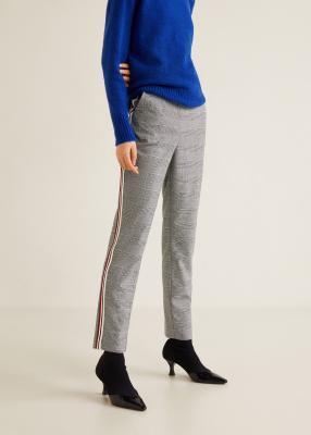 Отзыв на Клетчатые штаны с Контраст стим из Интернет-Магазина MANGO Outlet