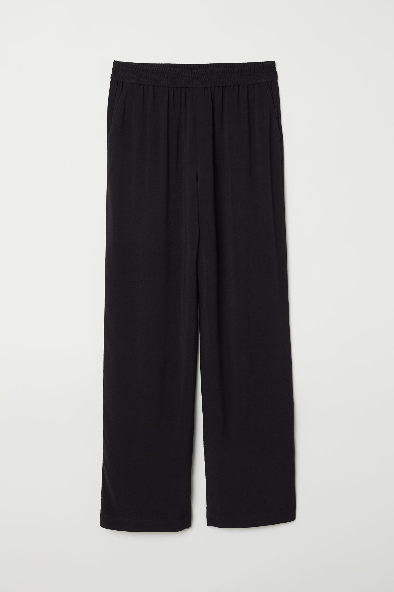 Отзыв на Широкие брюки из Интернет-Магазина H&M