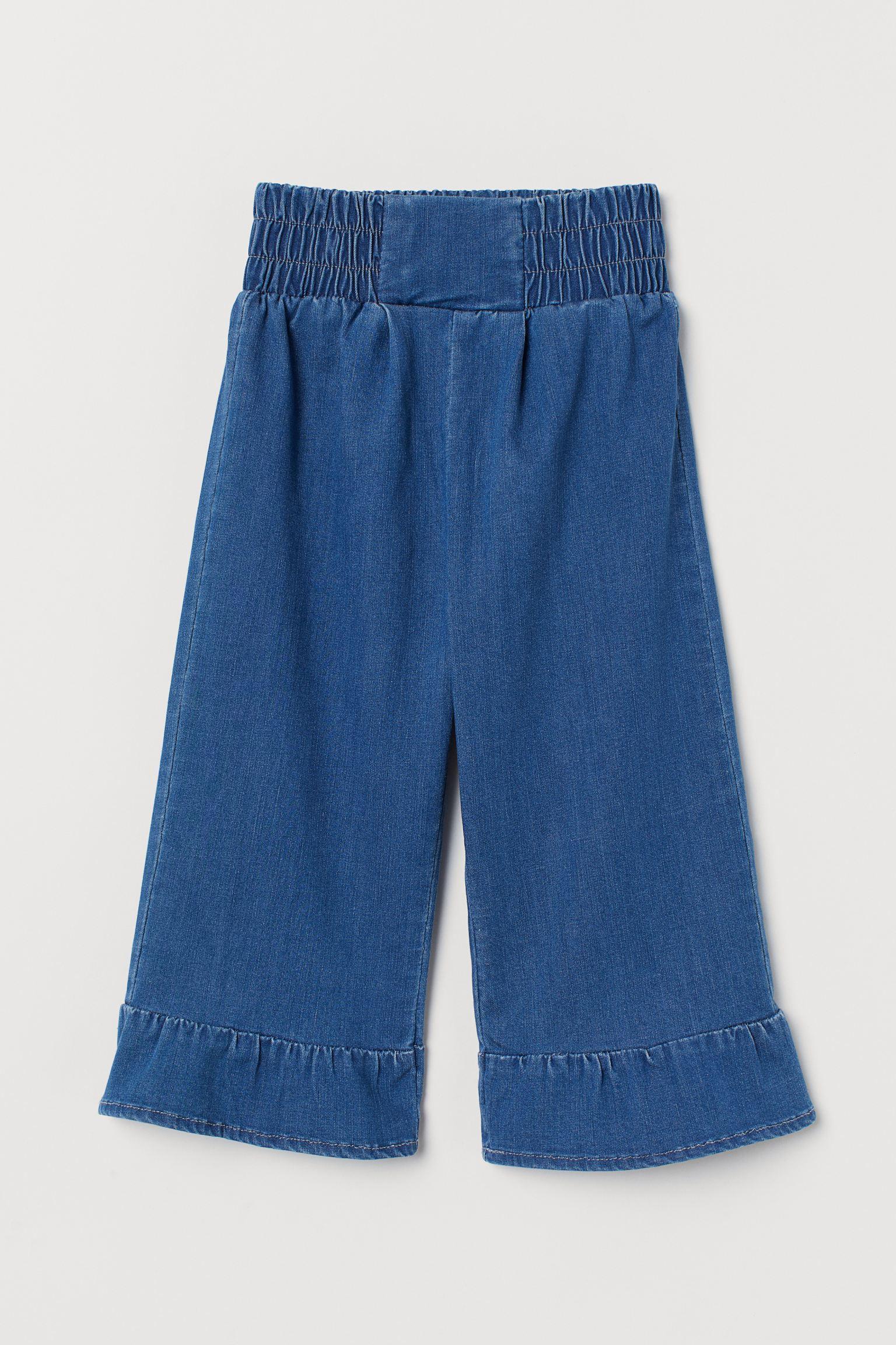 Отзыв на Брюки с джинсовый из Интернет-Магазина H&M