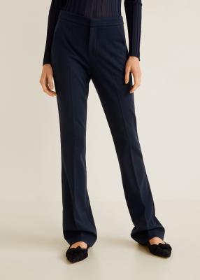 Отзыв на Расклешенные штаны с хлопка из Интернет-Магазина MANGO Outlet
