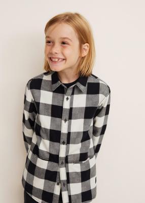 Отзыв на Клетчатая хлопковая рубашка из Интернет-Магазина MANGO Outlet