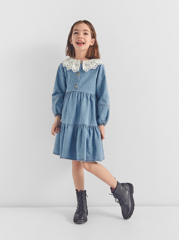Отзыв на BABYDOLL-JEANSKLEID из Интернет-Магазина Zara