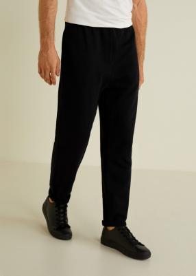 Отзыв на Спортивные штаны с хлопка из Интернет-Магазина MANGO Outlet