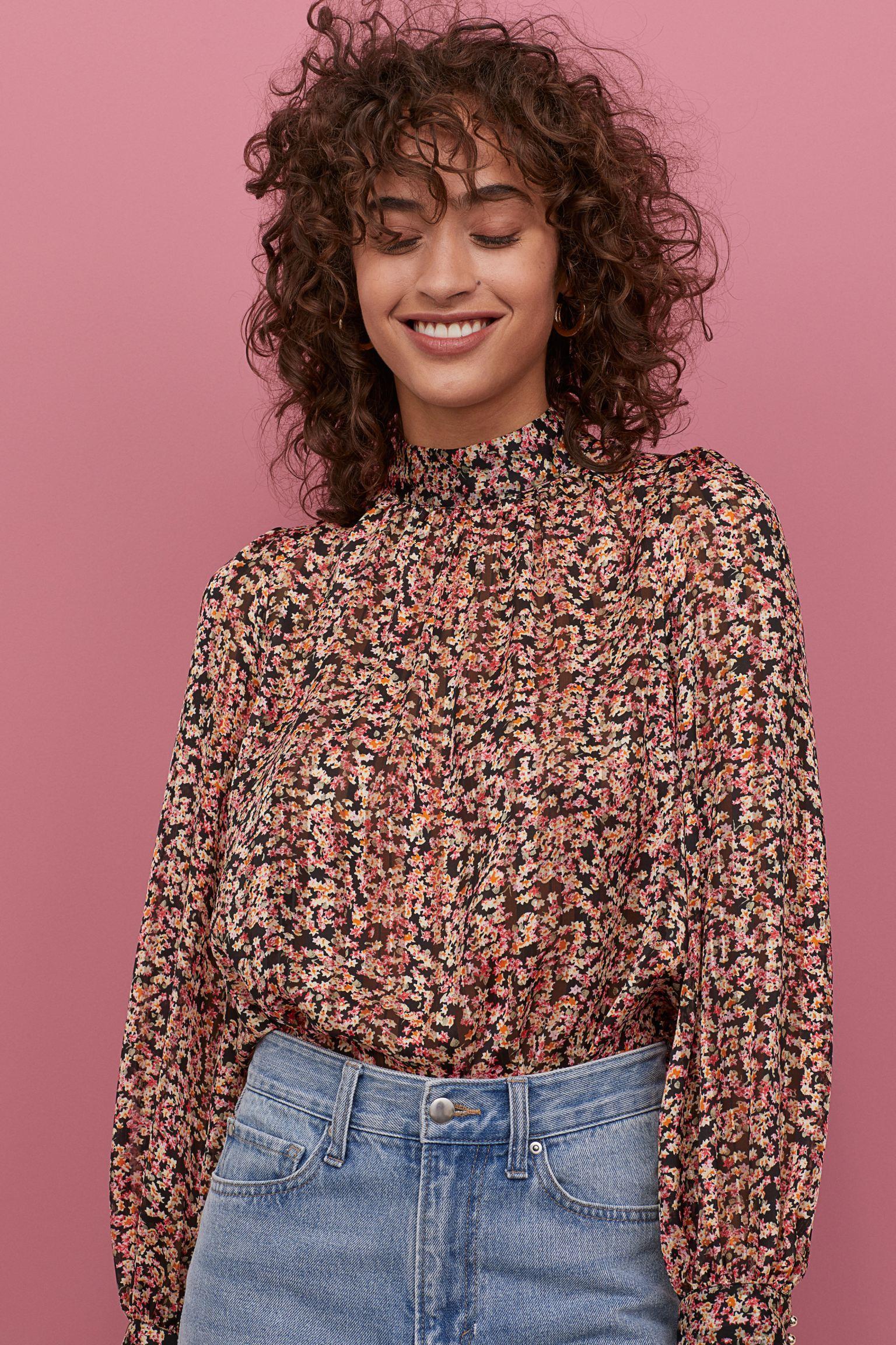 Отзыв на Длинная блузка из Интернет-Магазина H&M