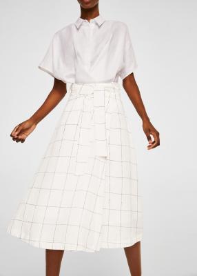 Отзыв на Льняная юбка с петлей из Интернет-Магазина MANGO Outlet