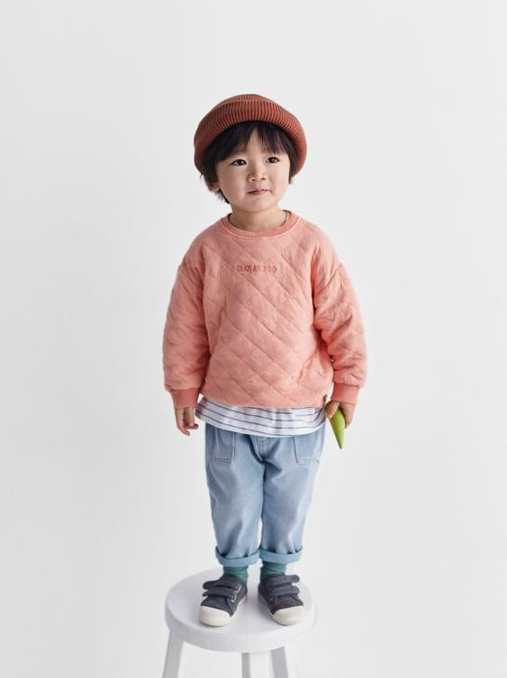 Отзыв на Свитер с Стеганый узор и ВЫШИВКА из Интернет-Магазина Zara