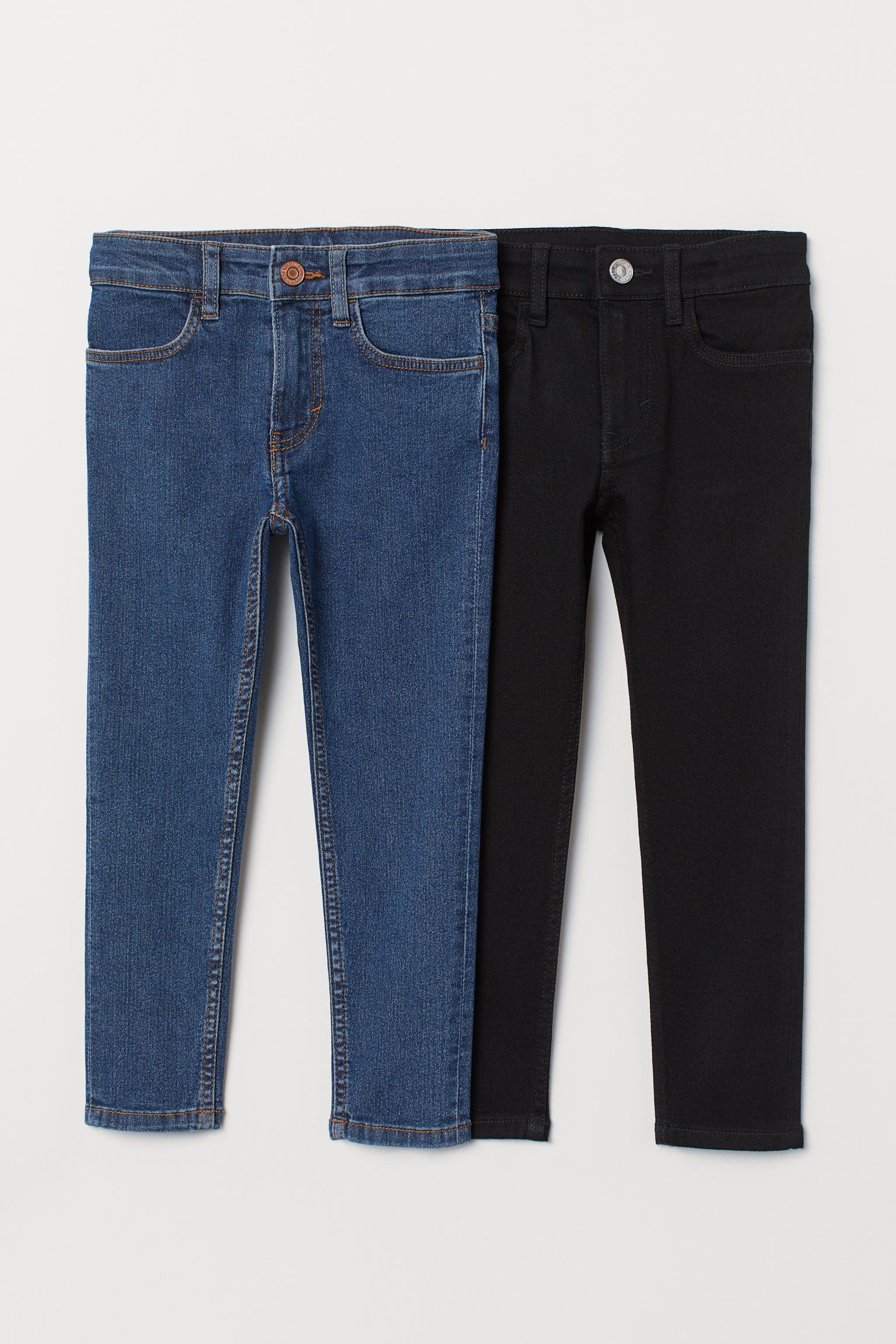 Отзыв на 2-пары узкие джинсы Fit Джинсы из Интернет-Магазина H&M