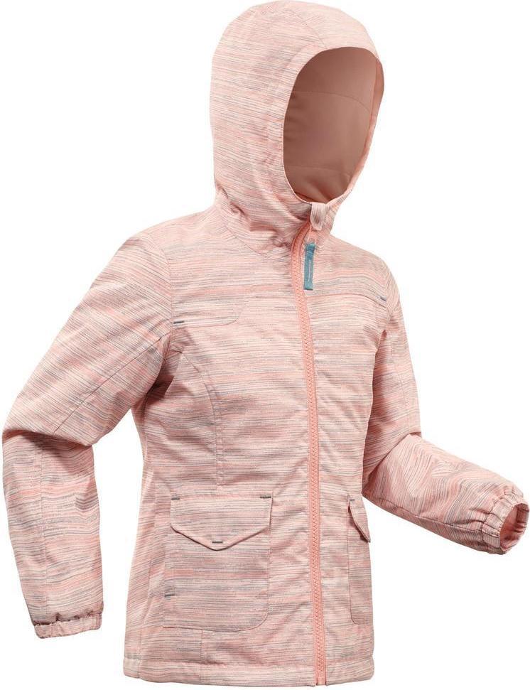 Отзыв на Зимняя куртка Зимние походы SH100 теплый водонепроницаемый для детей 2–6 Лет розовый из Интернет-Магазина Decathlon