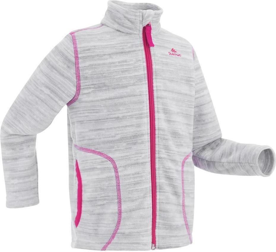 Отзыв на Флисовая куртка Пешие прогулки MH150 для девочки малыша 89–122см серая из Интернет-Магазина Decathlon