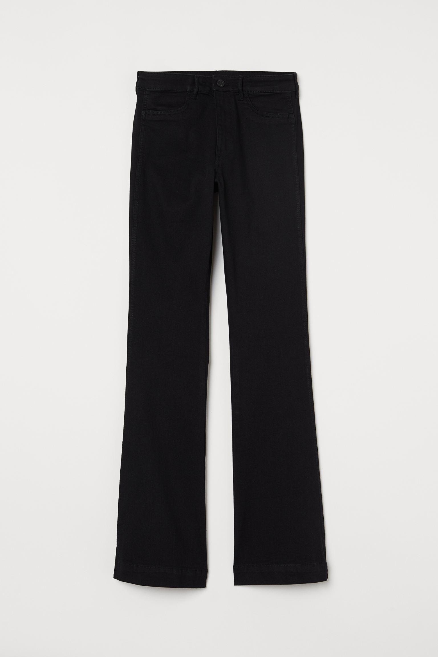 Отзыв на Расклешенные джинсы с высокой талией из Интернет-Магазина H&M