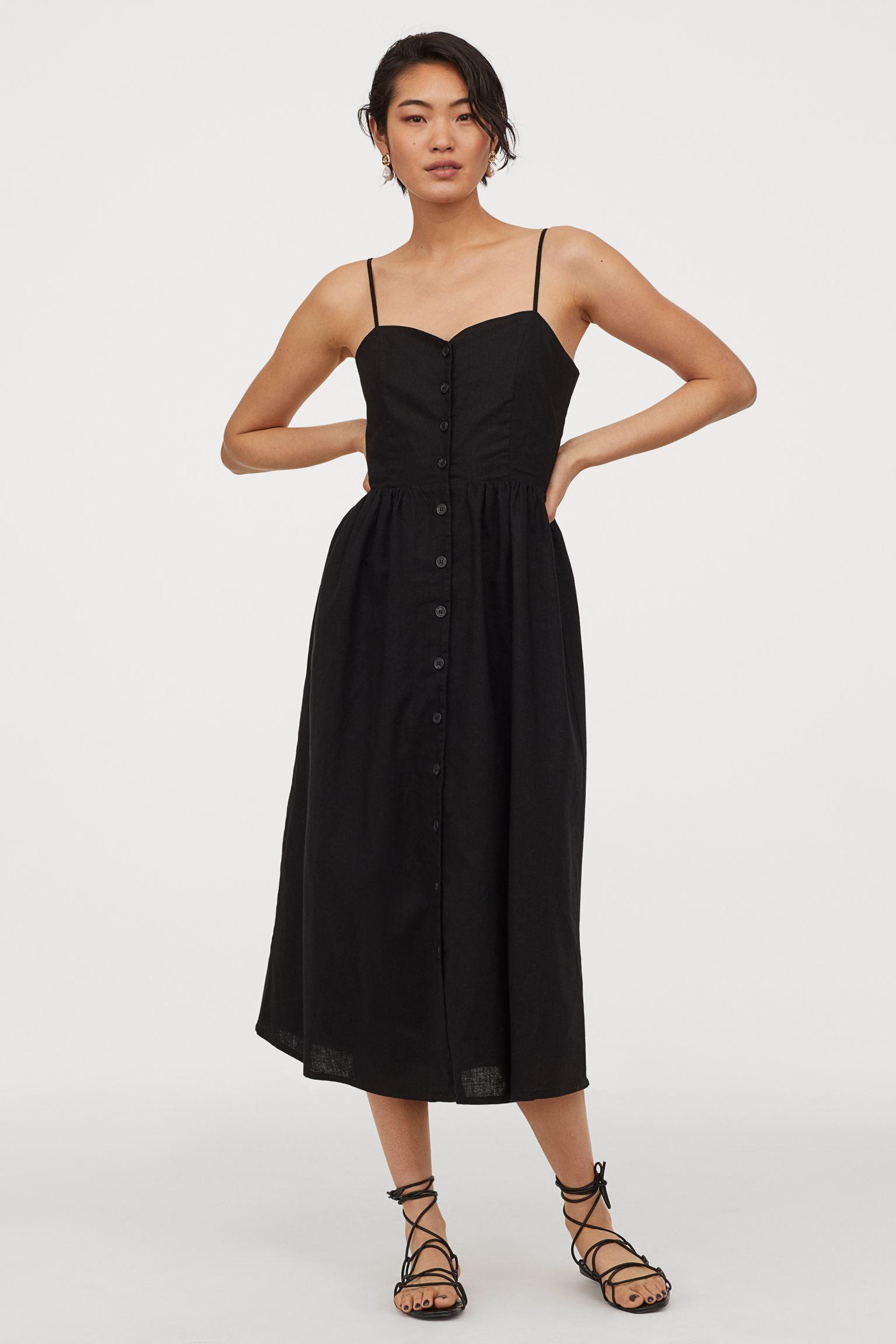 Отзыв на Платье с Leinenmix из Интернет-Магазина H&M