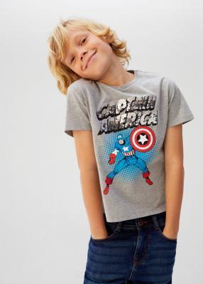 Отзыв на Футболка Супер герой с диском с паетками из Интернет-Магазина MANGO Outlet