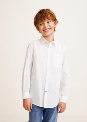 Отзыв на Хлопковая рубашка с нагрудным карманом из Интернет-Магазина MANGO Outlet