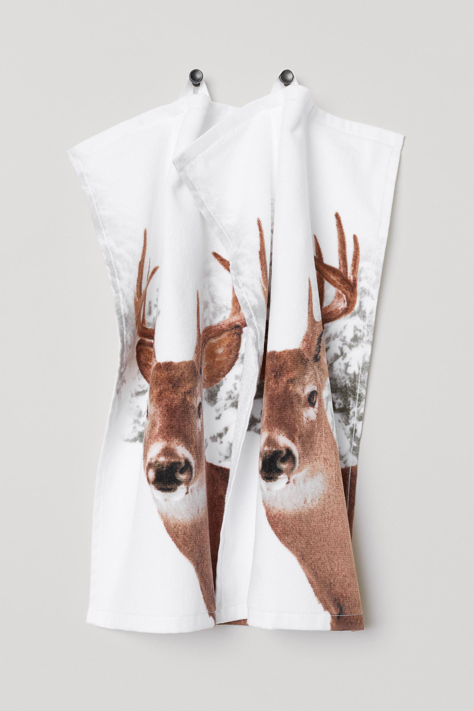 Отзыв на 2-пары полотенец из Интернет-Магазина H&M