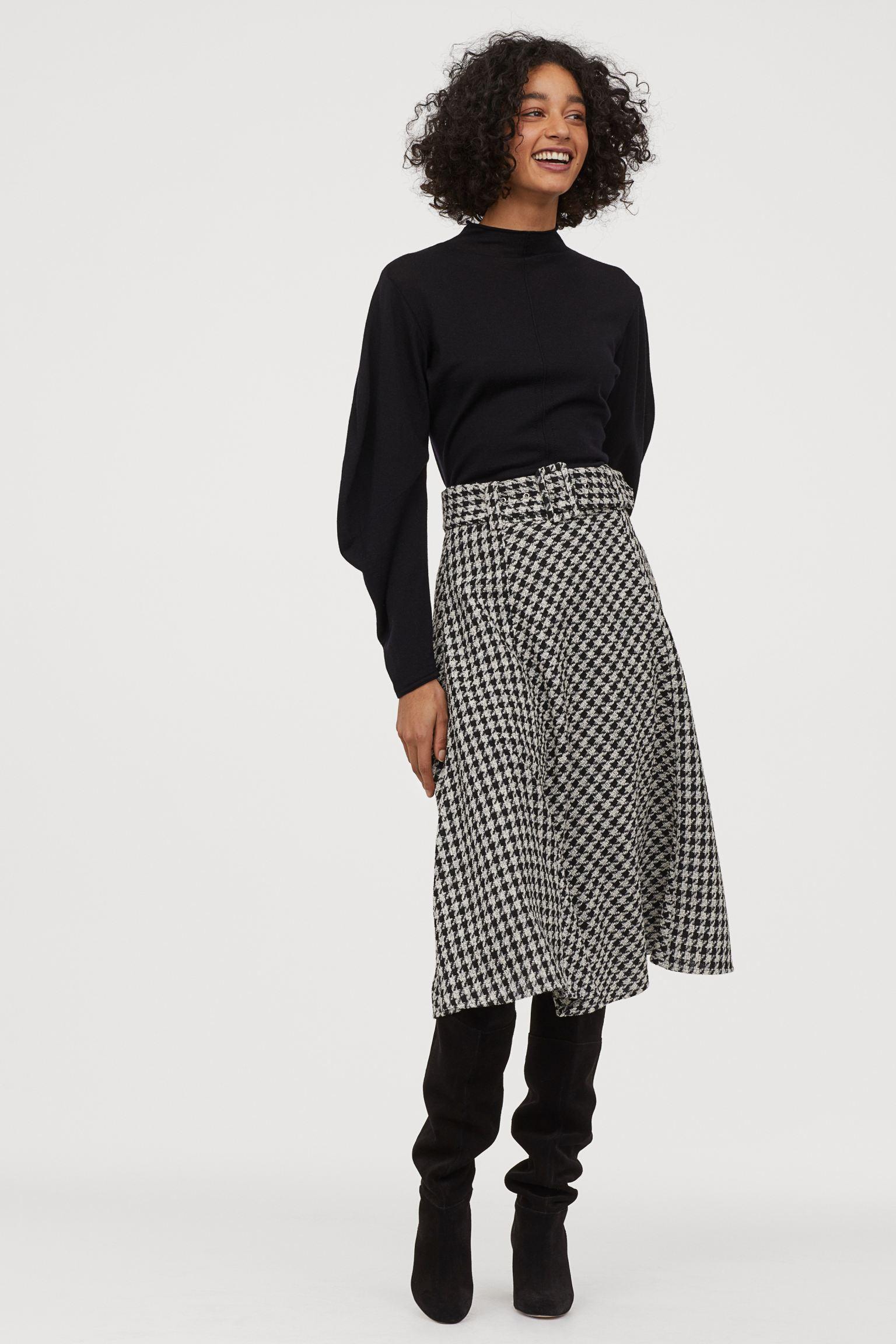 Отзыв на Юбка с Жаккардовая ткань из Интернет-Магазина H&M