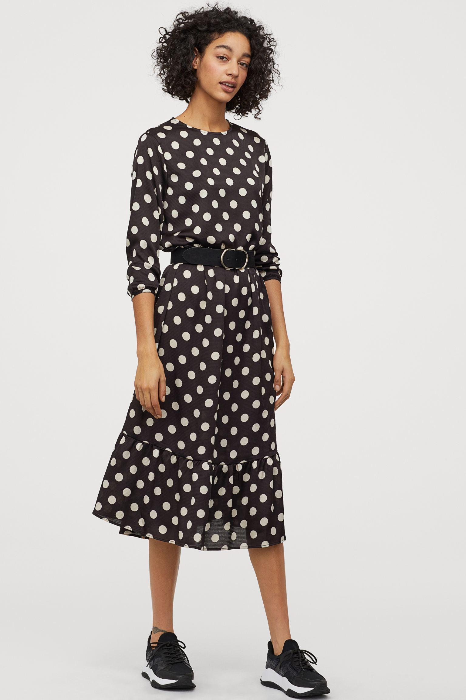 Отзыв на Crêpe-Kleid из Интернет-Магазина H&M