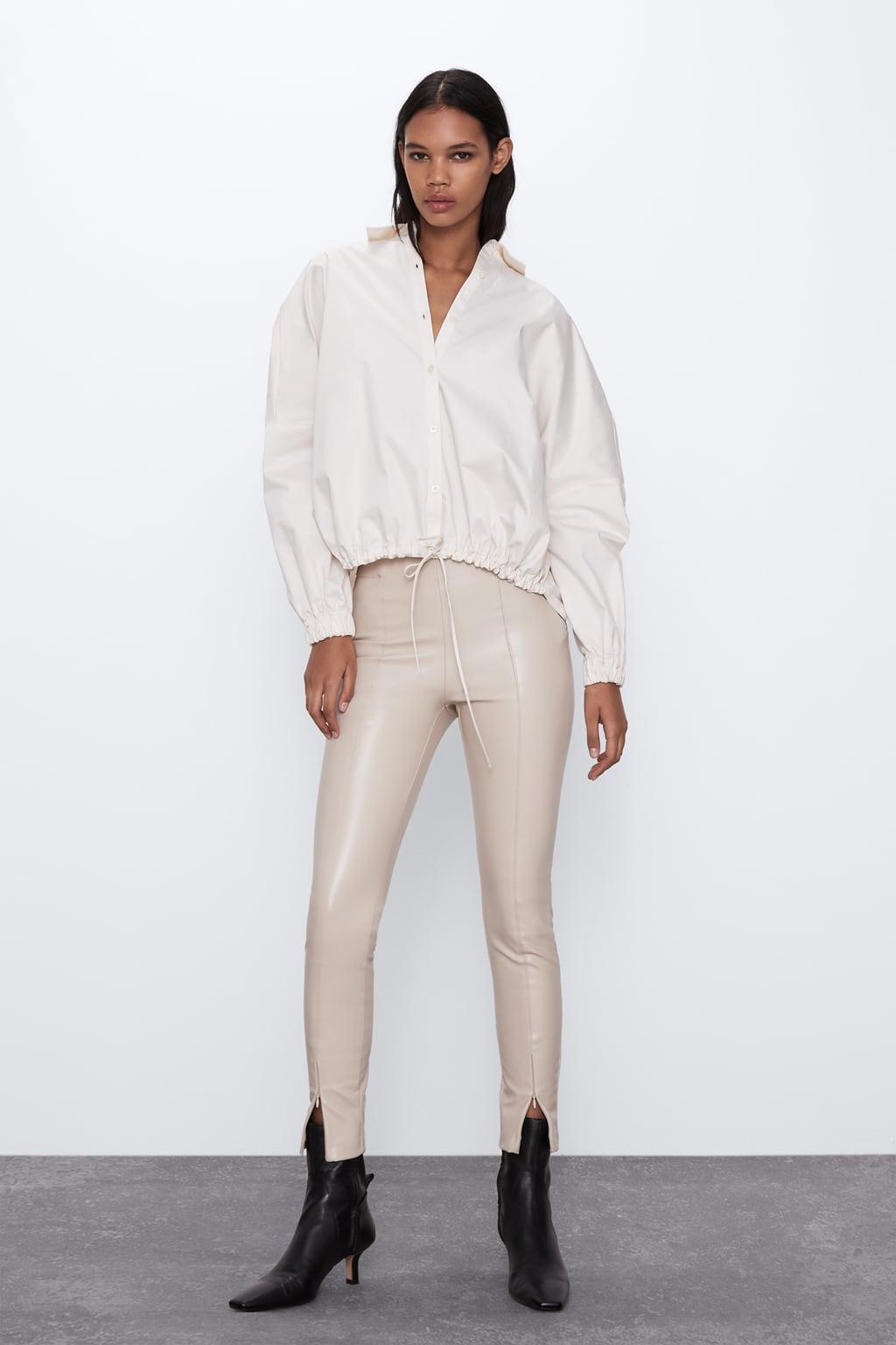 Отзыв на Леггинсы из искусственной кожи из Интернет-Магазина Zara