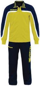 Отзыв на Givova Общая Европа Полный на молнии теплый спортивный костюм TR021-0704 из Интернет-Магазина SportSpar