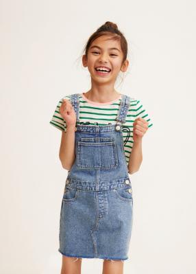 Отзыв на Heller Jeans-Trägerrock из Интернет-Магазина MANGO Outlet