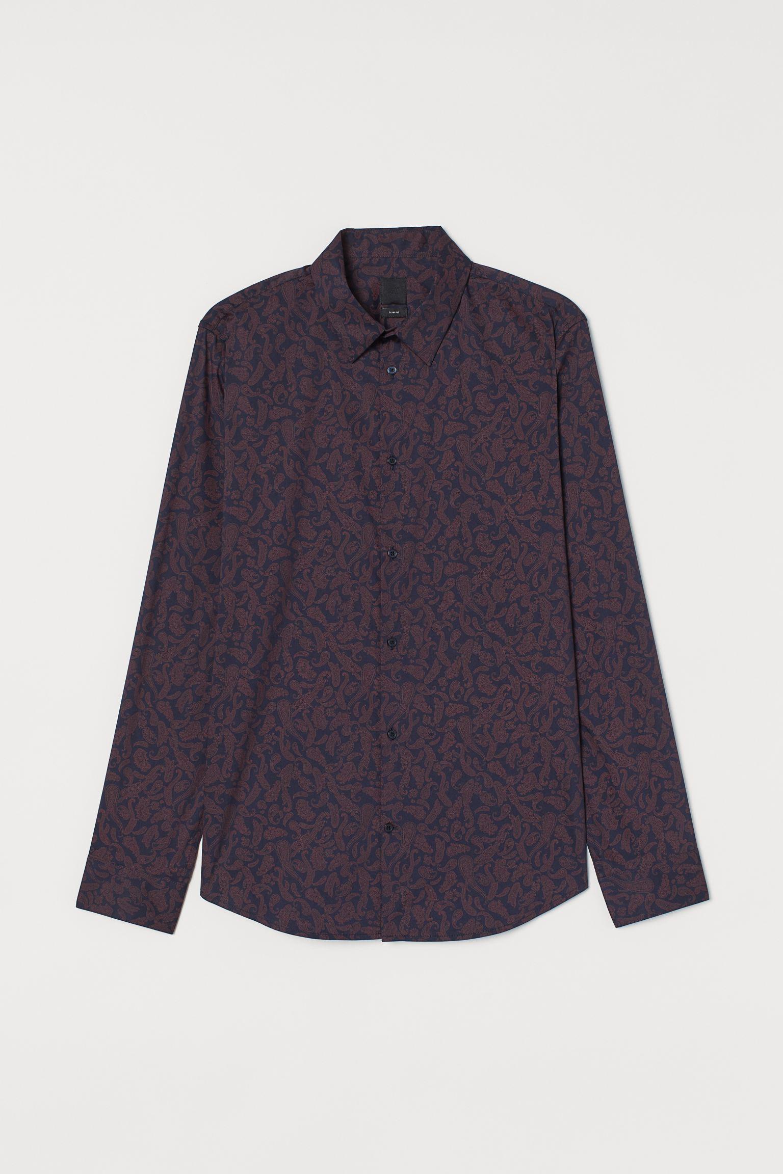 Отзыв на Stretchhhemd Зауженные из Интернет-Магазина H&M