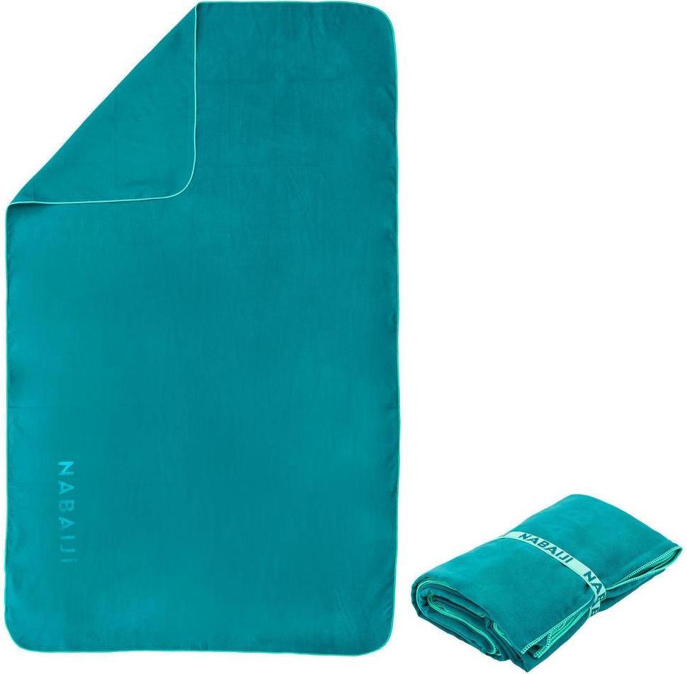 Отзыв на Микрофибра Полотенце компактный Л 80 × 130 см голубой из Интернет-Магазина Decathlon