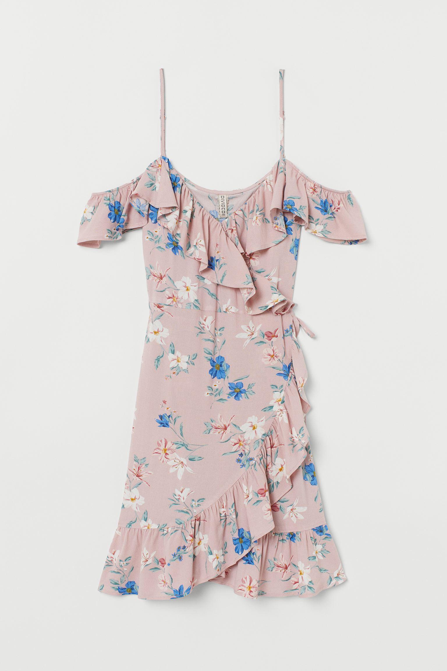 Отзыв на Платье на запах с Змеи из Интернет-Магазина H&M