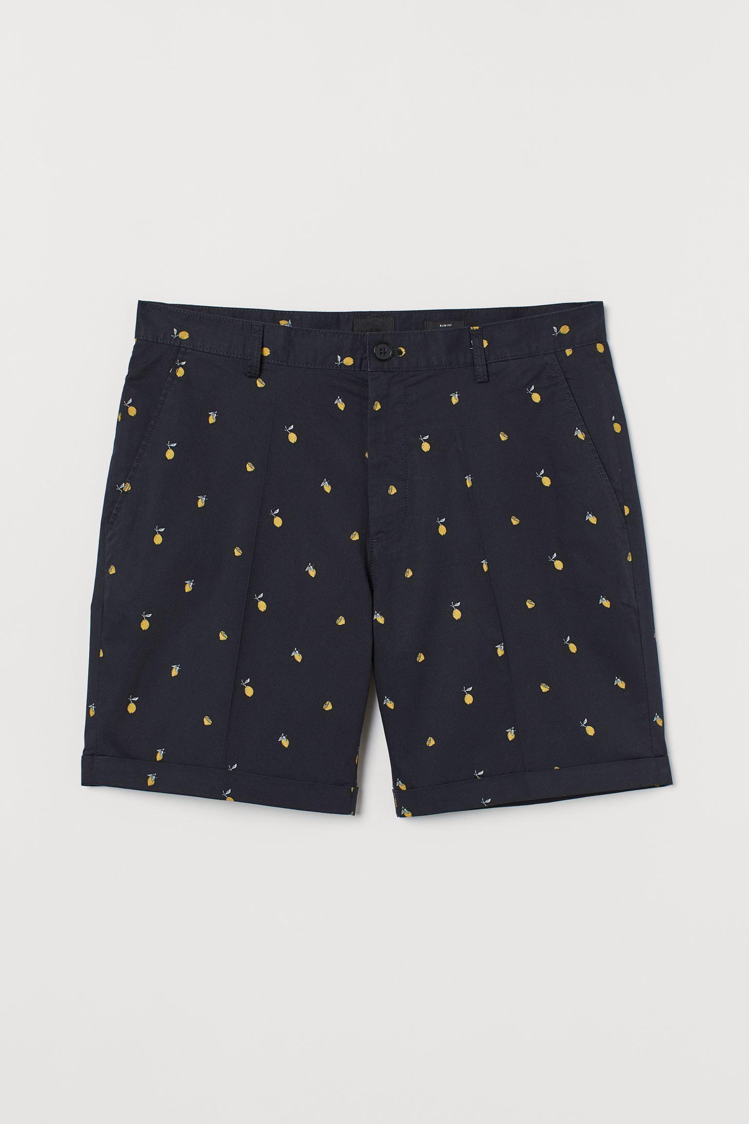 Отзыв на Хлопковые шорты Зауженные из Интернет-Магазина H&M