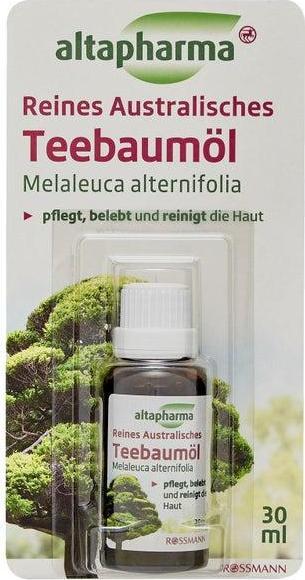 Отзыв на altapharma reines australisches Teebaumöl из Интернет-Магазина ROSSMANN