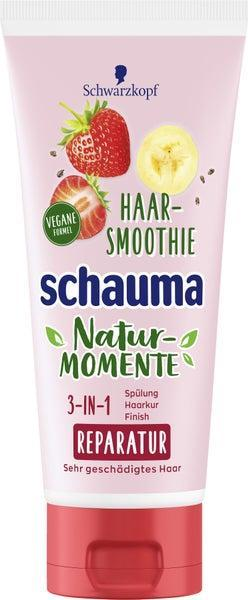 Отзыв на Schwarzkopf Schauma Natur-Momente Haar-Smoothie Erdbeere, Banane & Chia Samen из Интернет-Магазина ROSSMANN