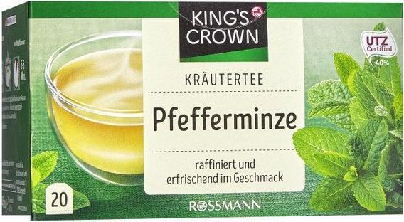 Отзыв на King's Crown Kräutertee Pfefferminze из Интернет-Магазина ROSSMANN