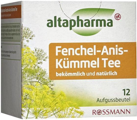 Отзыв на altapharma Fenchel-Anis-Kümmel Tee из Интернет-Магазина ROSSMANN