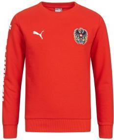 Отзыв на Австрия Пума для детей  свитер 750561-01 из Интернет-Магазина SportSpar