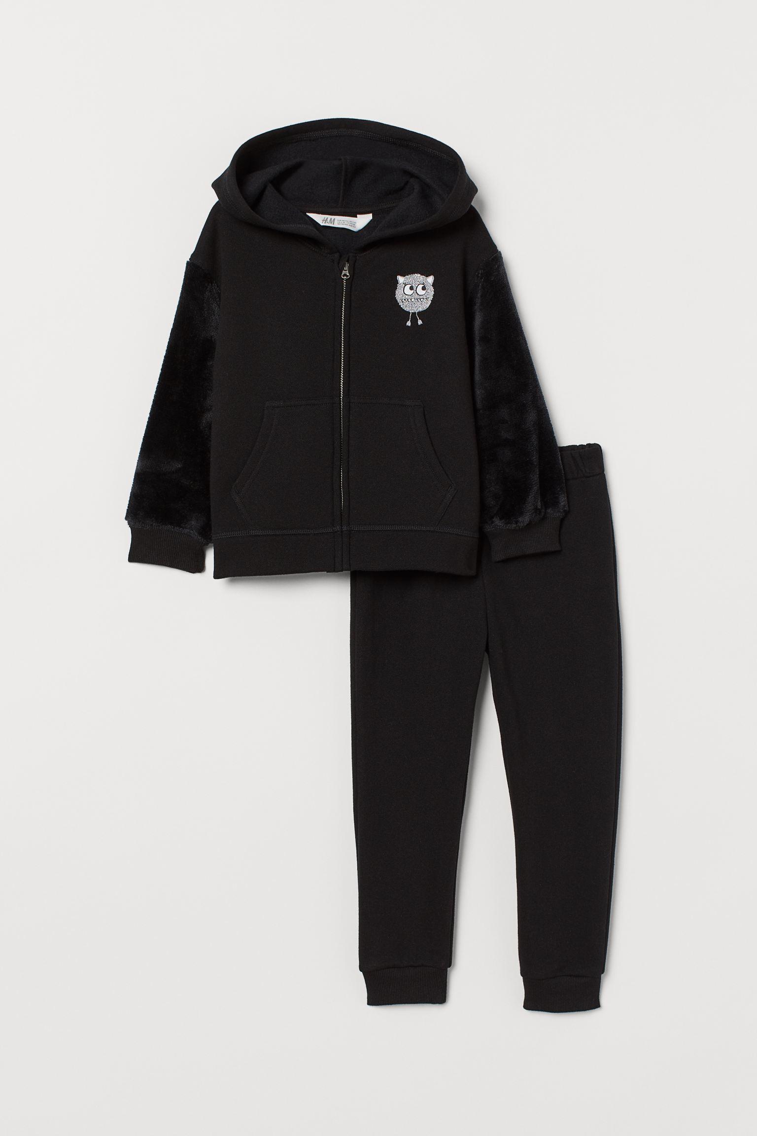 Отзыв на Куртка с капюшоном и Спортивные штаны из Интернет-Магазина H&M