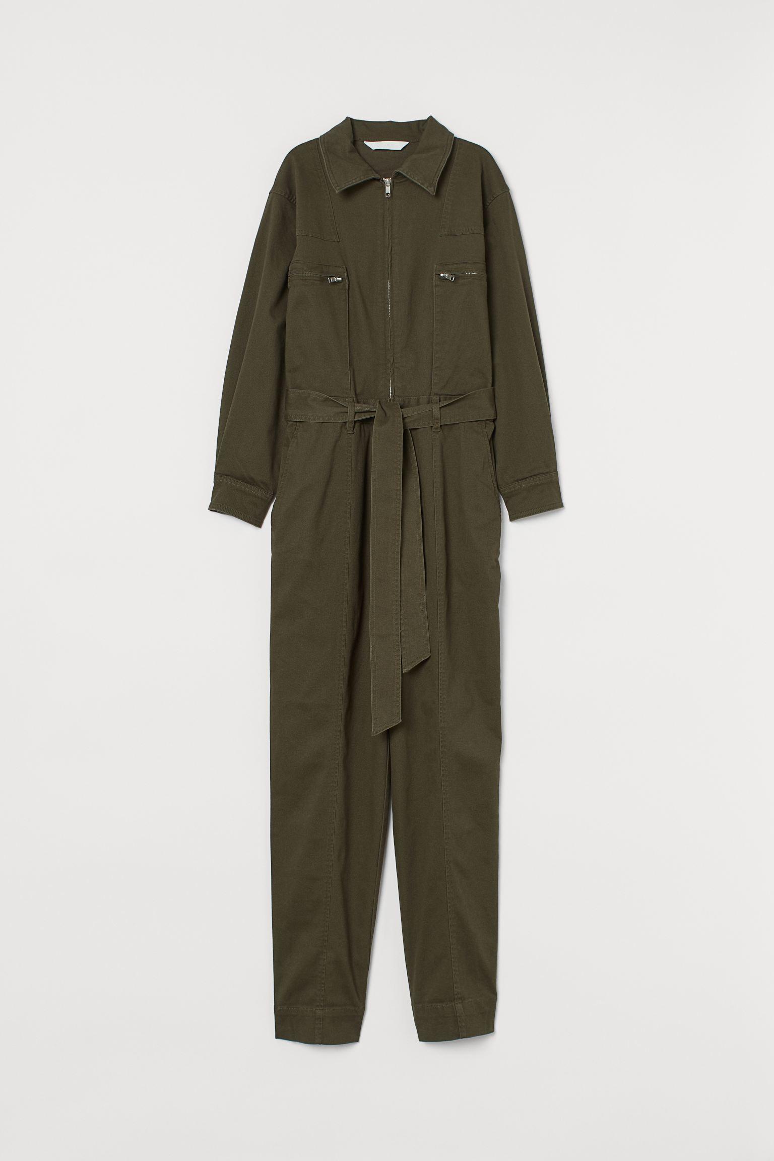 Отзыв на Boilersuit с Соединительной пояс из Интернет-Магазина H&M